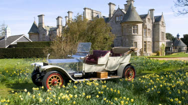 """The Silver Ghost was the car on which Rolls Royce built its """"best car in the world"""" reputation"""