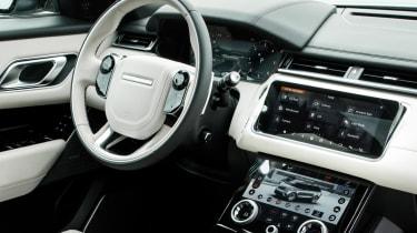 Range Rover Velar R-Dynamic cabin