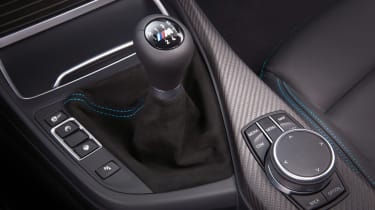 BMW M2 Competition interior detail