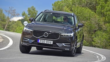 Its Thor's Hammer LED daytime running lights and uprights grille might be derived from the XC90, but the XC60 is sportier