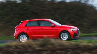 Audi A1 2019 side profile tracking