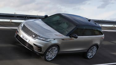 The Velar is available in four main trim levels. Entry-level cars are referred to as 'Standard', with S, SE and HSE following