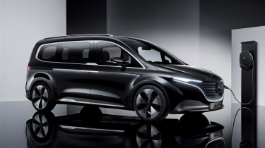 Mercedes Concept EQT - side static, charging