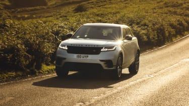 2021 Range Rover Velar P400e plug-in hybrid driving