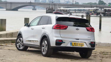 Kia e-Niro - rear 3/4 static