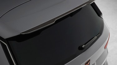 Cupra Ateca Special Edition carbon fibre spoiler