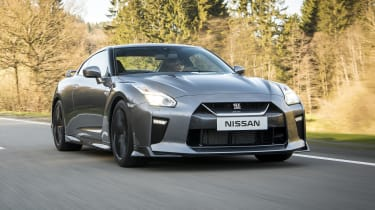 The GT-R uses a 3.8-litre twin turbo petrol engine that produces 562bhp in the standard model.