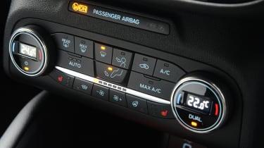 Ford Focus ST hatchback climate control