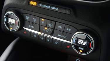 Ford Focus ST hatchback climate control