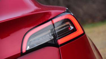 Tesla Model 3 saloon rear lights