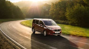 Ford Tourneo Connect MPV driving in sunny conditions