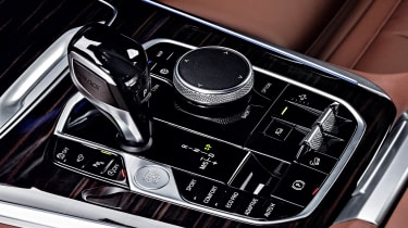 BMW X5 iDrive controls