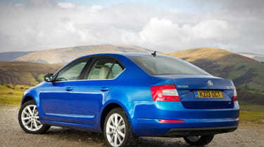 The Skoda Octavia's boot steals all the headlines. The standard hatchback has a generous 590-litre capacity, which stretches to 1,580 litres with the 60:40 split-folding rear seats lowered.