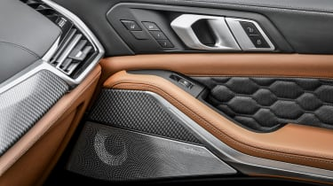 BMW X5 M Competition interior detail