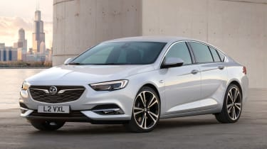 The new Insignia Grand Sport is up to 175kg lighter than the car it replaces
