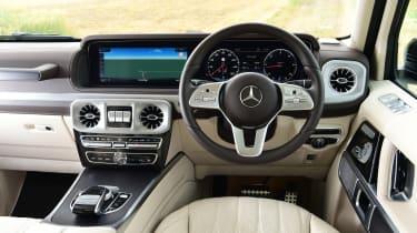 Mercedes G-Class SUV interior
