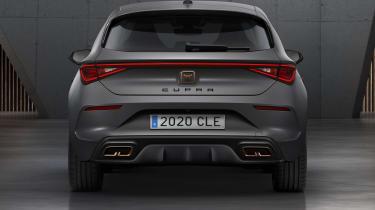 Cupra Leon hatchback - rear end