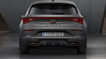 Cupra Leon hatchback - rear end