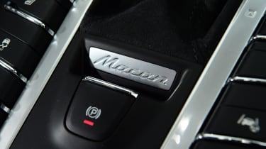 Porsche Macan SUV centre console