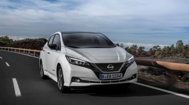 Thanks to a larger battery pack and 235-mile range it needs topping up less frequently