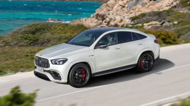 2020 Mercedes-AMG GLE 63 S Coupe front 3/4 driving