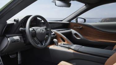 Lexus LC Limited Edition steering wheel