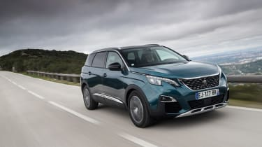 The Peugeot 5008 SUV follows in the footsteps of the stylish 3008, but comes with seven seats