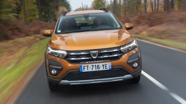 2021 Dacia Sandero Stepway - front view driving