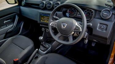 2018 Dacia Duster interior