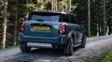 Facelifted 2020 MINI Countryman Cooper S - rear dynamic