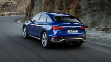 2021 Audi Q5 Sportback - rear 3/4 dynamic