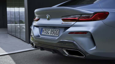 BMW 8 Series Gran Coupe - rear close up