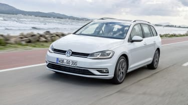 The latest Volkswagen Golf Estate offers the same virtues as the hatchback, with an extra dose of practicality