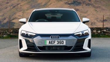 Audi e-tron GT saloon front static