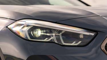 BMW M235i Gran Coupe saloon headlights