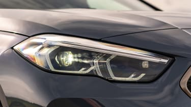 BMW M235i Gran Coupe saloon headlights