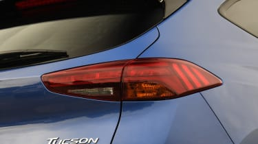 2018 Hyundai Tucson SUV - rear light