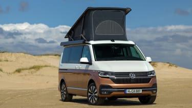 2019 Volkswagen California campervan - front 3/4 static