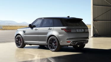 Range Rover Sport SVR Carbon Edition rear view