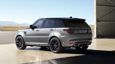 Range Rover Sport SVR Carbon Edition rear view