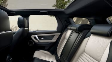 Land Rover Discovery Sport SUV rear seats