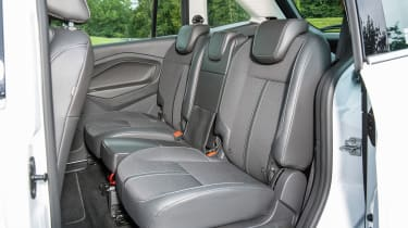 One of the Grand C-MAX's best features is its sliding rear doors, giving great access to the back seats