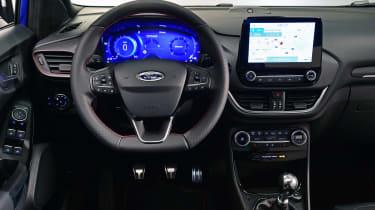 2020 Ford Puma - dashboard view