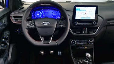 2020 Ford Puma - dashboard view