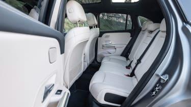 2020 Mercedes GLA rear seats