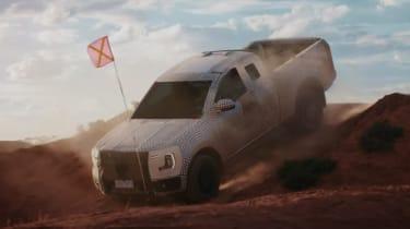 Ford Ranger teaser - driving off-road