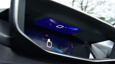 Peugeot 208 hatchback digital instrument cluster