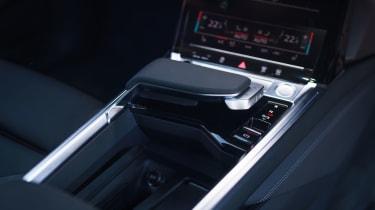 Audi e-tron Sportback SUV gear selector