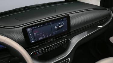 2020 Fiat 500 electric convertible - infotainment touchscreen