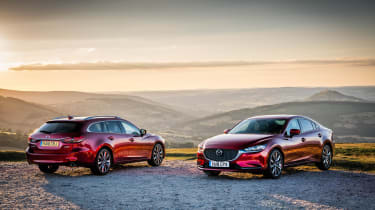 Mazda6 Tourer and saloon
